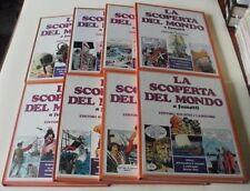 LA SCOPERTA DEL MONDO A FUMETTI serie COMPLETA 1/8