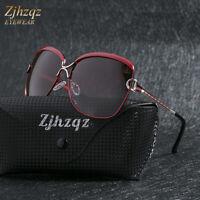 Fashion Oversized Retro Polarized Sunglasses Women Outdoor Sport Driving Glasses