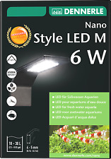 Dennerle Nano Style LED M 6W Aquarium Light for Nano Tanks High Quality EU Made