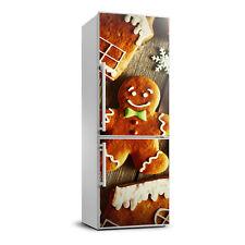3D Wall Fridge Sticker Magnet Decor Refrigerator Wall Mural Gingerbreads
