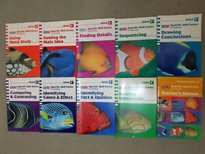 10x SRA Specific Skill Series for Reading Books F Complete set (2006)