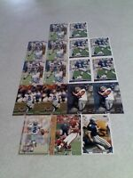 *****Lin Elliott*****  Lot of 17 cards.....7 DIFFERENT / Football