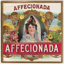Affecionada - Cigar Box Label