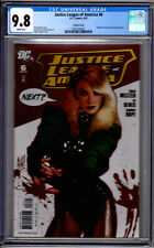 DC! Justice League of America # 6! Adam Huges Variant! Black Canary! CGC 9.8!