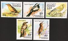 Philatelic STAMPS Thematic -  0008 / BIRDS OF THE WORLD / SAHARAUI 1997