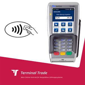 Mobil Kartenzahlung anbieten EC Cash Gerät Lesegerät VX 680 GPRS günstig mieten