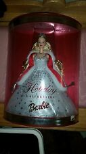 2001 Holiday Celebration Blonde Barbie Doll, Mattel, NRFB