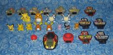 Vintage Pokemon V Trainer Think Chip Device Figure and Accessory Lot Excellent