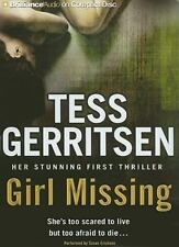 Girl Missing By Tess Gerritsen Audiobook  CD Unabridged MSRP:$30