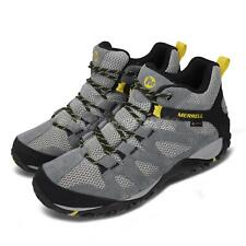 Merrell Alverstone Mid GTX Gore-Tex Grey Black Men Outdoors Hiking Shoes J034283