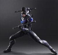 Batman Arkham Play Arts Kai Knight Nightwing Robin Action Figure Statue Doll New