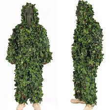 Jungle Camo Ghillie Suit Camouflage Hunting clothing Sniper Tactical Camouflage