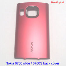 100% Genuine New Original Nokia 6700 slide 6700S Back Cover Fascia Housing - Red