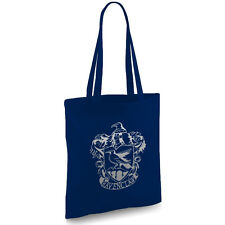HARRY Potter ispirato RAVENCLAW Blu Navy Tote Bag
