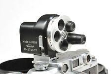 UNIVERSAL TURRET VIEWFINDER KMZ for Zorki FED KIEV Leica rangefinders    EXC+++