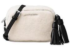 NWT Michael Kors Jet Set Travel Small Chain Crossbody Shearling Fur Handbag $148