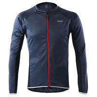 ARSUXEO Men's Spring Summer Long Sleeve Cycling Jersey MTB Bike Shirt Clothing
