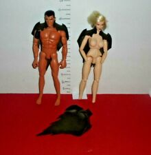 "3 HTF DETALED BROWN CAPES for CUSTOMS  1/6 12"" G. I. Joe Cy-Girl SPAWN"
