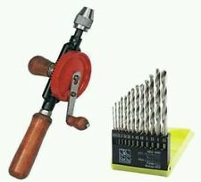 Combo Offer Of Useful 2 in 1 Offer Hand Drill Machine With 13Pcs Drill Bits Set