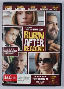 Burn After Reading DVD Free Post