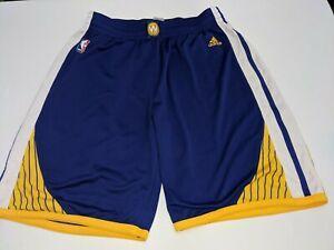 Adidas Golden State Warriors 2016 Gray Swingman Basketball Shorts XL Mens GUC