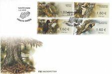 Woodpeckers White-backed Dendrocopos Leucotos Aland Finland Mint FDC 2019
