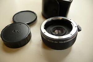 Lens two times 2x converter ENSINOR PENTAX mount   X26