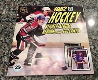 1982 OPC O Pee Chee NHL Hockey Complete Sticker Book Album