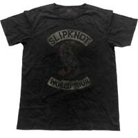 Mens Slipknot Vintage Patched-Up Crew Neck T-Shirt - Unisex Rock Music Tee