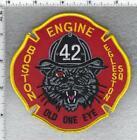 Boston Fire Department (Massachusetts) Engine 42 Shoulder Patch