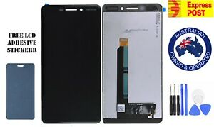 OEM NOKIA 6.1 2018 TA-1068 LCD DISPLAY+TOUCH SCREEN DIGITIZER REPLACEMENT BLACK