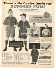 1959 Boy Scouts Cub Scouts Summer Uniforms Clothing w/prices VTG PRINT AD