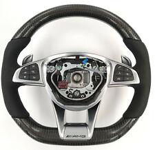 Mercedes Benz AMG lenkrad Carbon veredelt C63 C63s GTS C190 S63 W205 W222 W217