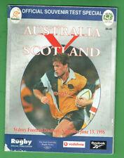 #Kk. Rugby Union Program - 13/6 1998, Australia V Scotland