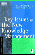 Key Issues in the New Knowledge Management (KMCI Press) by Firestone, Joseph M.