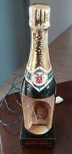 !! Magnifique  lampe bouteille  champagne Abel Lepitre  des années 60's !