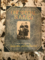 ONE SPECIAL SUMMER- Jacqueline & Lee Bouvier, 1st Printing 1974