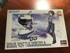 Hasegawa EGGPLANE Space Shuttle & Boeing 747 Model Kit NEW
