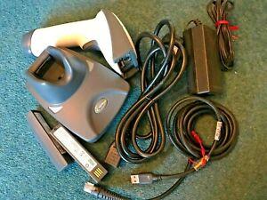 Honeywell 4820 cordless bluetooth 2D barcode scanner,full USB kit,2 batteries
