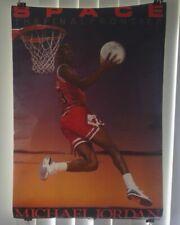 "Michael Jordan "" Space ""  1990 Costacos  Poster"