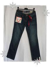 Jean Bleu Moyen Stretch Taille Basse Coupe Etroite EDC  Esprit W24 L30  34 - 36