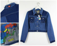 NEW WRANGLER by PETER MAX WESTERN  DENIM JACKET RETRO REAL VINTAGE  XS/S/M/L