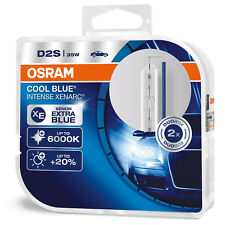 2 x D2S OSRAM Xenarc COOL BLUE INTENSE 6000K Light HID XENON LAMP (TWIN)