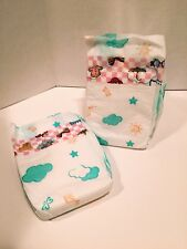 Vintage Plastic Backed Baby Diapers- Size XL - Set Of 2