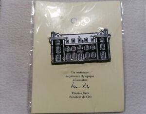 IOC International Olympic Committee - 100 years in Lausanne pin