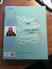 Rachel Hollis - CHASE THE DREAMS THAT MAKE YOU NERVOUS - Priority Planner -NEW!