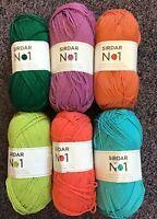 5 x 100g Balls of Sirdar No1 Double Knitting Wool/Yarn for Knitting/Crochet