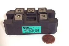 FUJI ELECTRIC 100A 1600V RECTIFIER MODULE 6RI100G-160
