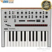 KORG synthesizer MONOLOGUE-SV monophonic analog monologue silver from JAPAN NEW