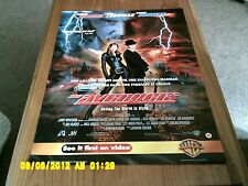 Los Vengadores (Uma Thurman, Ralph Fiennes, Sean Connery) Movie Poster A2